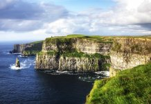 Irlanda, alojárse en un castillo en la Wild Atlantic Way