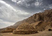 Las tumbas de Jebel Hafeet Beehive en Al Ain, Emiratos Árabes Unidos