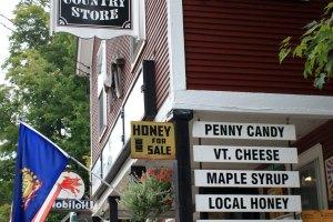 Ripton General Store Sign, Ripton, Vermont