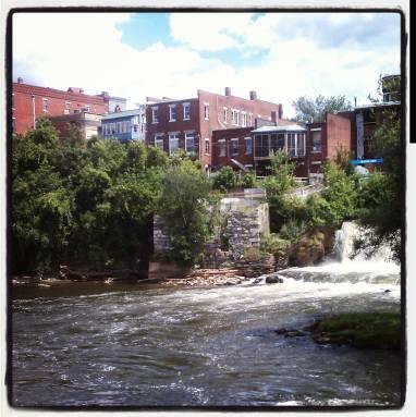 Otter Creek Falls, Middlebury, Vermont