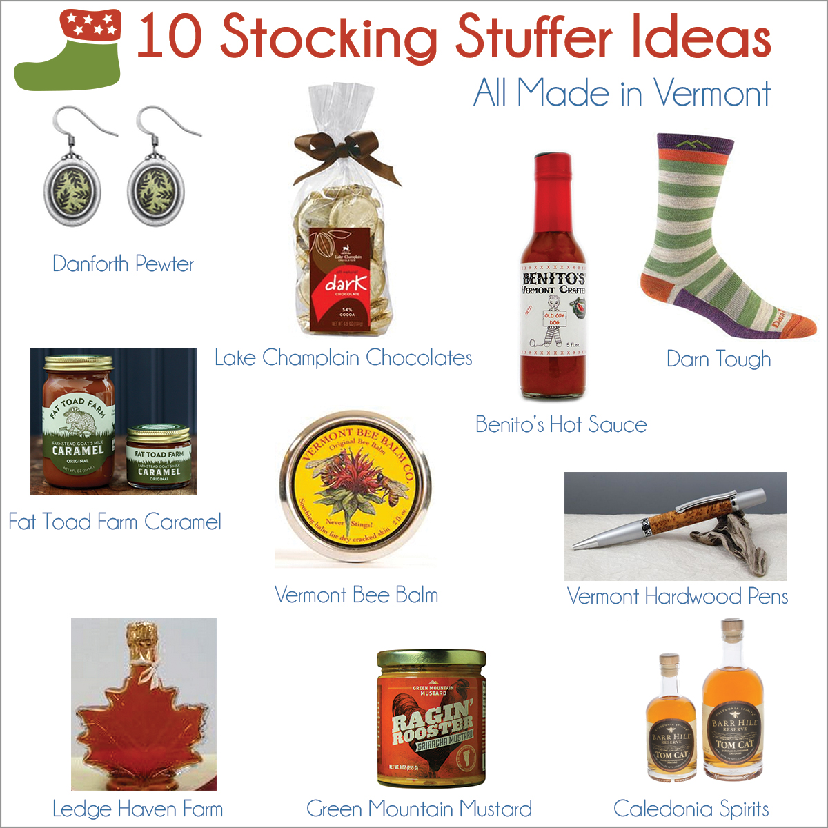 10 Vermont-Made Stocking Stuffer Ideas - Travel Like a Local: Vermont