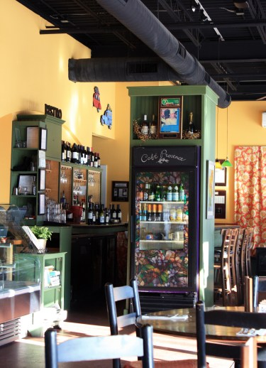 Cafe Provence Interior, Brandon, Vermont