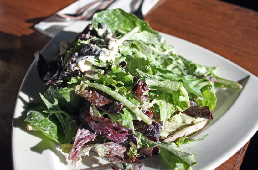 Green Side Salad, Cafe Provence, Brandon, Vermont