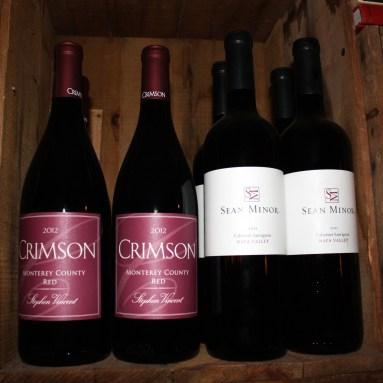 Wine, The Backroom, Pittsfield, Vermont