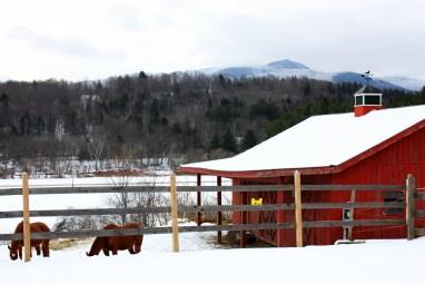 Yellow Farmhouse Inn Barn, Waitsfield, Vermont