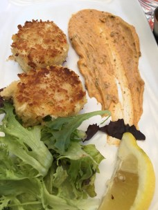 Lake House Pub, Crab Cakes