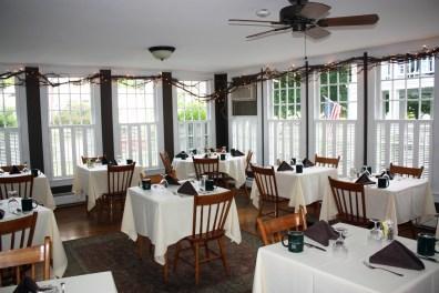 Breakfast Room at the Dorset Inn