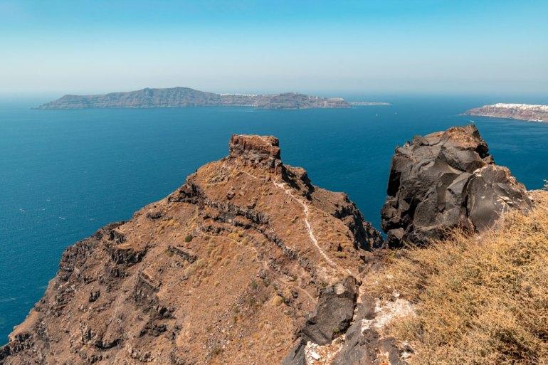 Skaros Rock Imerovigli Santorini