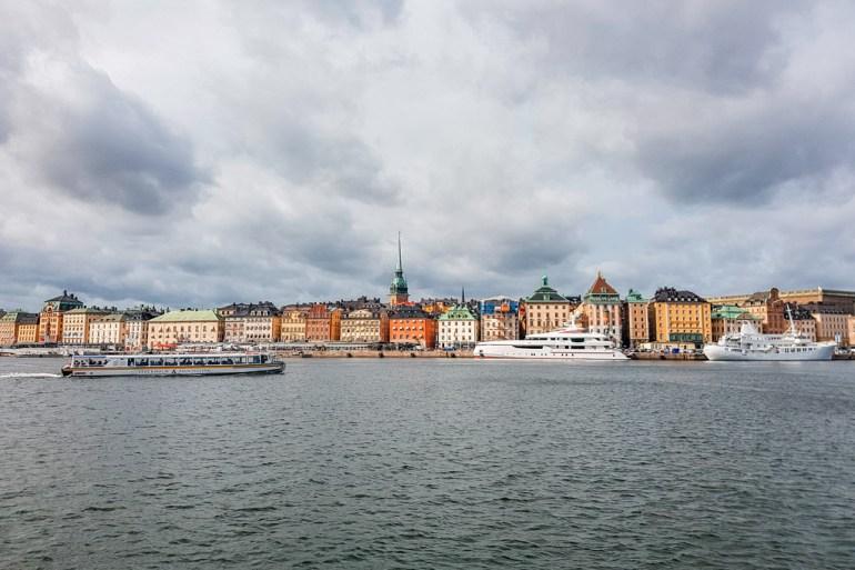 Stockholm Harbor View