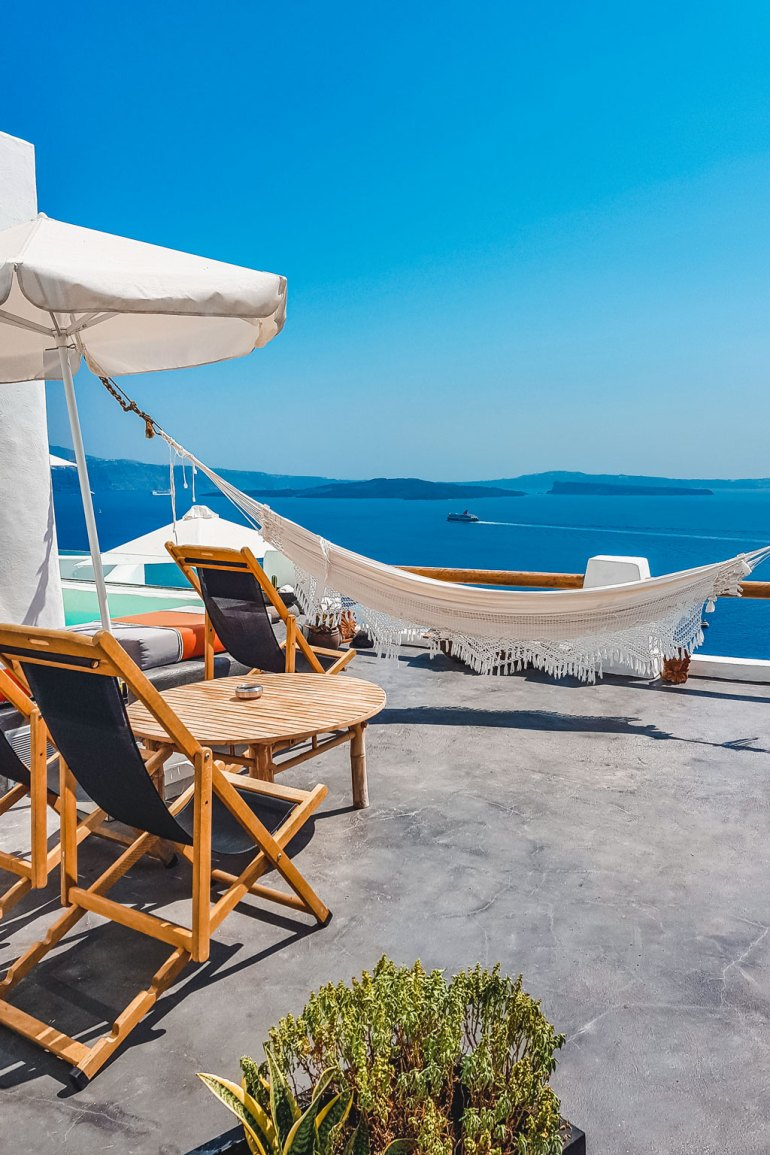 Luxury Sea View Santorini Greek Island Hoping
