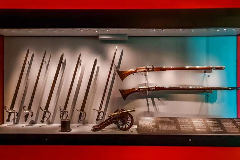 Swedish Army Museum Old Weapons