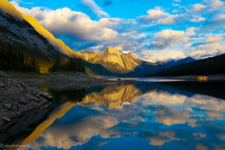 Medicine Lake, Jasper National Park, Can by eleephotography, on Flickr