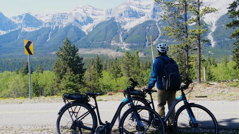 Rocky Mountain Legacy Trail or Banff Legacy Trail in Banff National Park