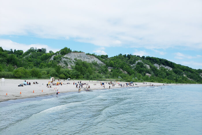 Bluffer's Beach and Cathedral Bluffs