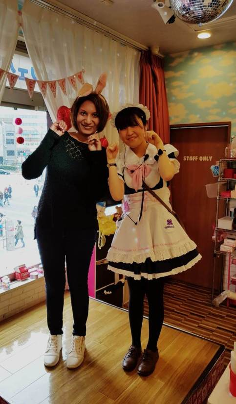 Maid cafe in akihabara Tokyo are one of the must do things in tokyo.
