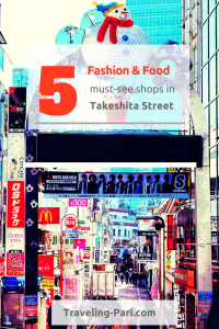 Takeshita street is a must-visit when you go to Japan. Check out the 5 food/fashion shops you must visit in Takeshita Dori.