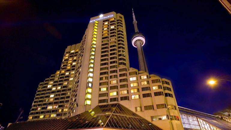 Where to stay in Toronto : Intercontinental Toronto Centre