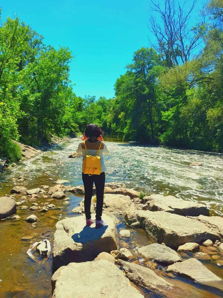 Free things to do in Toronto: Soak your feet in Don river