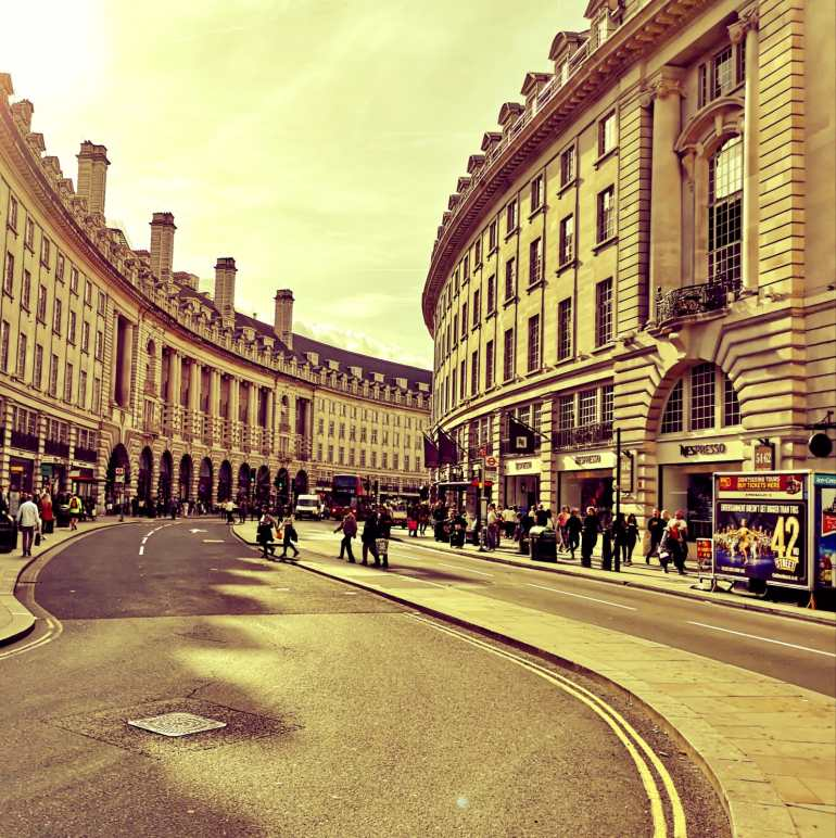 Day 3 of 3 Days in London - Regent Street and Oxford Street