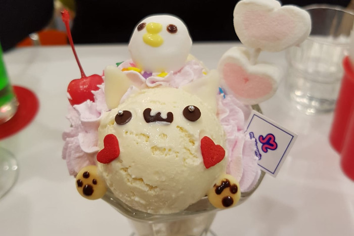 Things to do in Tokyo: Have desserts in a cosplay cafe.
