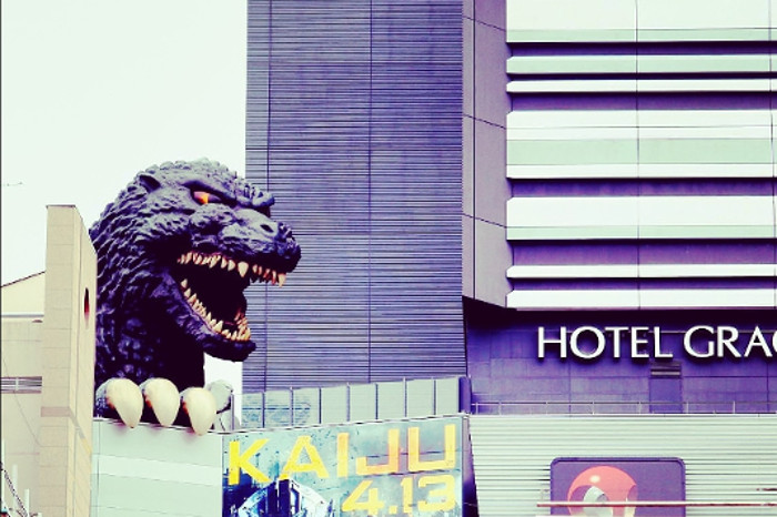 Things to do in Tokyo: Godzilla Statue at Shinjuku
