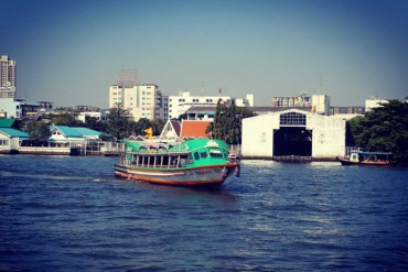 Chao Phraya River - How to use the express boats