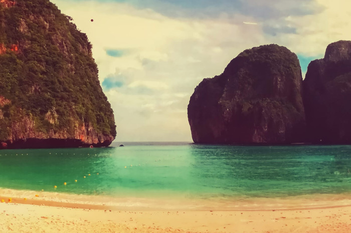 Things to do in Krabi, Thailand : See Maya Bay from afar