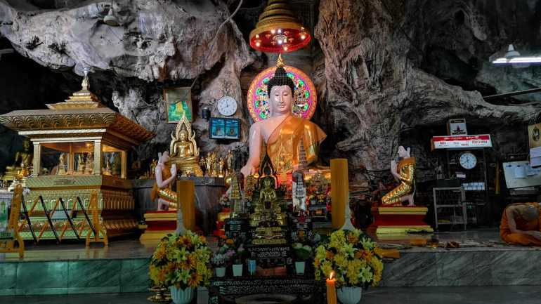 The Interiors of the Tiger CaVe Temple, Krabi