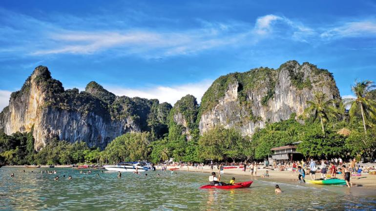 Best areas in Krabi for tourists - Railay beach