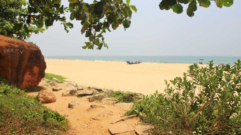 Places to visit in India: Varkala beach, Kerala