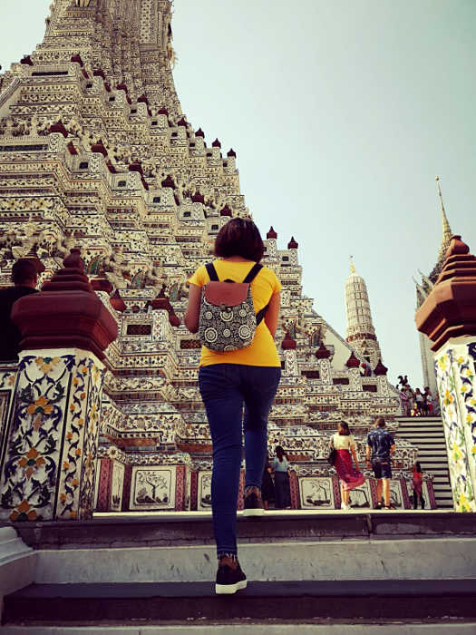 Wat Arun is another temple which is a must-see when in Bangkok.