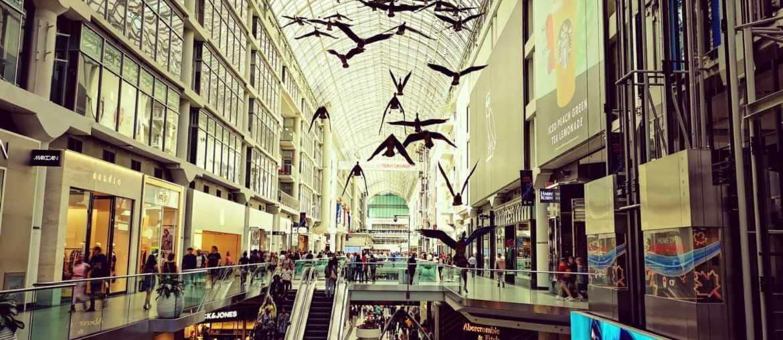 Toronto Shopping malls - Eaton Centre