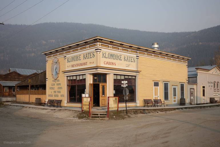 Klondike Kate at Dawson City, Yukon