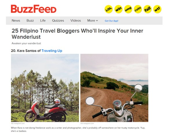 Buzzfeed-25-Top-Filipino-Bloggers-Kara-Santos-TravelUp
