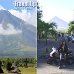 Motorcycling from Naga to Mayon