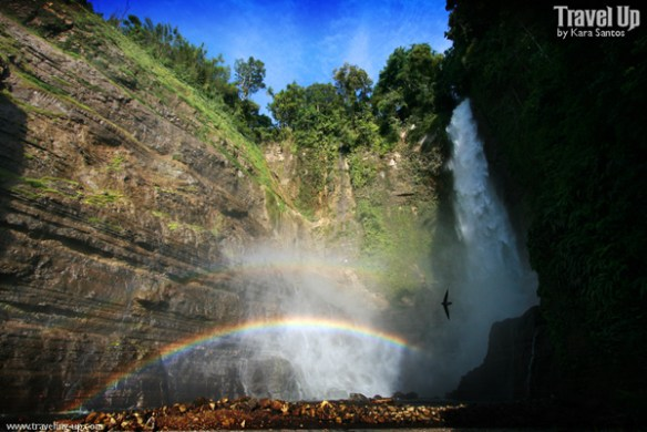 lake sebu 7 falls rainbow