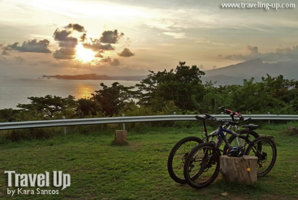 corregidor island philippines biking sunset battery grubbs