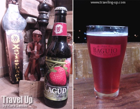 xavierbier lagud strawberry beer baguio craft brewery