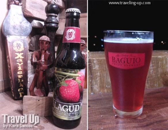 xavierbier lagud strawberry beer baguio craft brewery