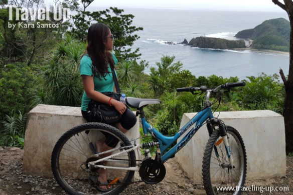 baler aurora bicycle dicasalarin cove from pag-asa station