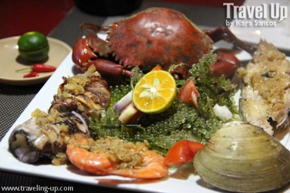 03. kawayanan grill coron seafood platter