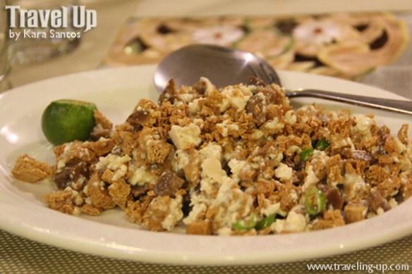 alfonso simply natural restaurant naga city sisig