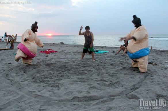the circle hostel zambales beach sumo