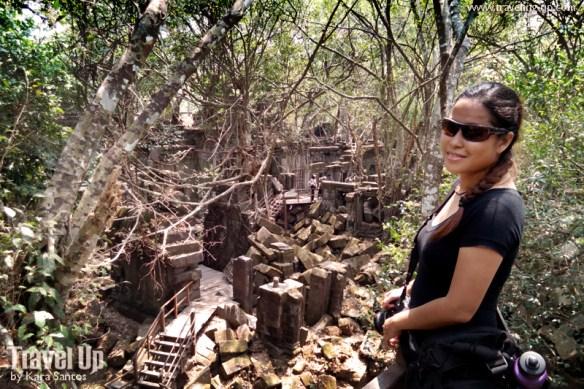 beng melea temple cambodia maze