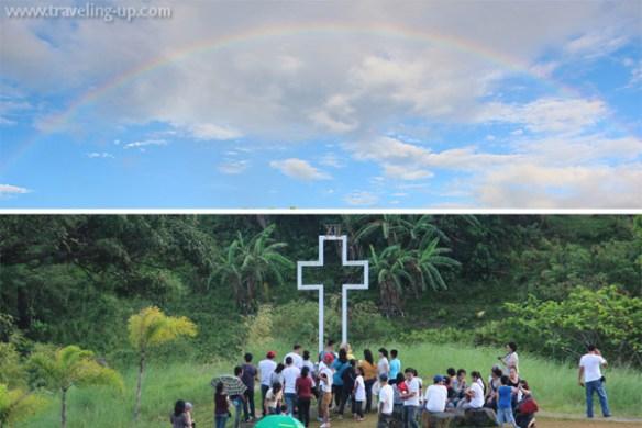 regina rica tanay rizal rainbow cross