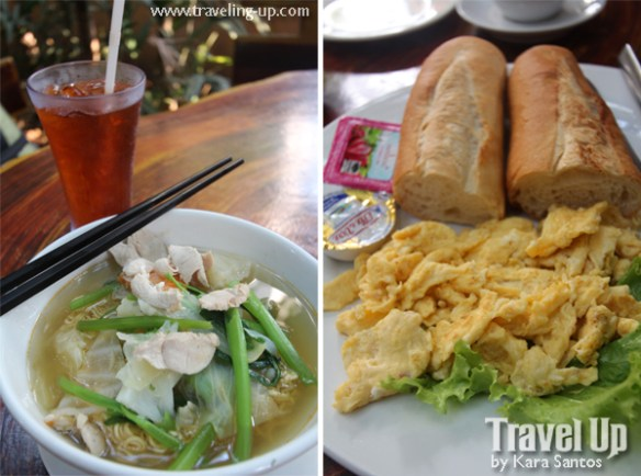 cambodian noodles french bread siem reap cambodia