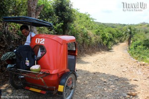 itbayat batanes getting around tricycle