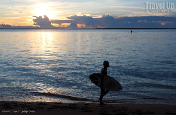 jomalig quezon sunset skimboard