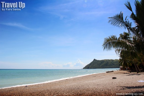 white pebbles beach minalabac camarines sur shore