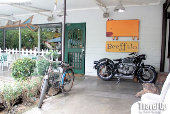 Beeffalo by HotRocks Marikina sign vintage bike and motorcycle